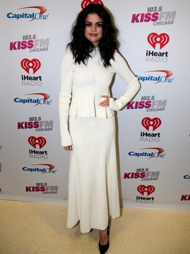 Selena Gomez en la fiesta de 103.5 KISS FM's Jingle Ball en Chicago