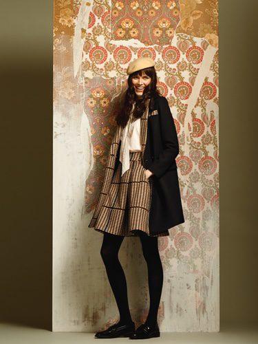 Falda estilo british de la colección otoño/invierno 2016/2017 de Dolores Promesas