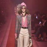 Outfit vintage de Gucci colección primavera/verano 2017 en la Milán Fashion Week