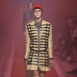 Chaqueta amarilla de Gucci primavera/verano 2017 en la Milán Fashion Week