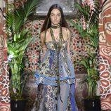 Vestido de Roberto Cavalli primavera/verano 2017 en la Milán Fashion Week