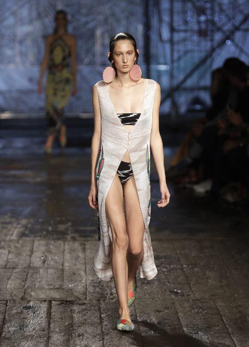 Bikini de Missoni colección primavera/verano 2017 en Milán Fashion Week