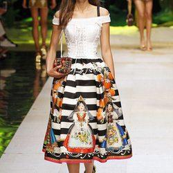 Dolce & Gabbana sube a la Milán Fashion Week su colección primvera/verano 2017