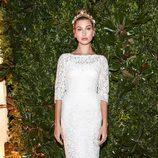 Hailey Baldwin en la fiesta de Dolce & Gabbana en la Milán Fashion Week