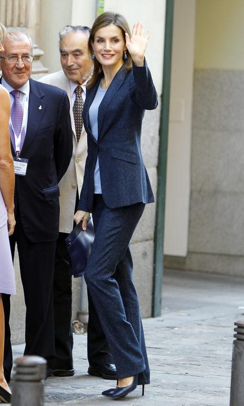 La Reina Letizia en el cogreso 'Save Food 2016' en Madrid