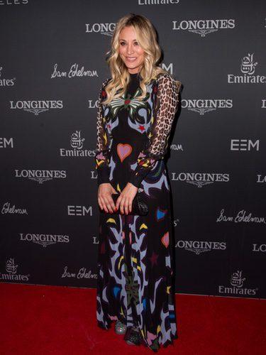 Kaley Cuoco en la fiesta de 'Longines Masters' en Los Ángeles