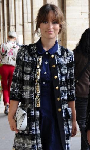 Olivia Wilde, por las calles de París
