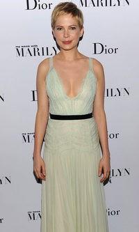 Michelle Williams, impresionante en la premiere de 'Mi semana con Marilyn'