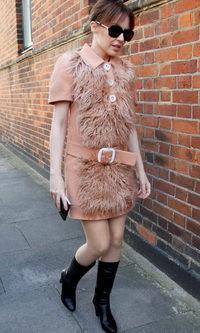 Kylie Minogue, amante de la moda sesentera