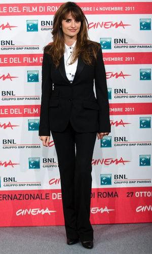 Penélope Cruz se apunta a la moda masculina