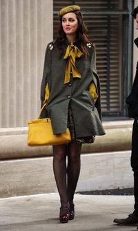 Leighton Meester al más puro estilo Blair Waldorf