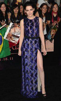 Kristen Stewart, la dama de azul