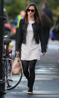 Pippa Middleton, fiel al encaje