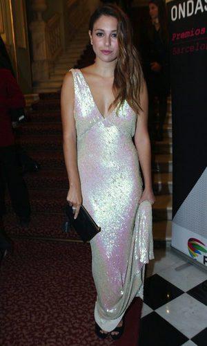 Blanca Suárez, deslumbrante en los Ondas