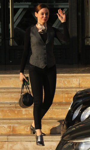 Rose McGowan se apunta a la moda dandy