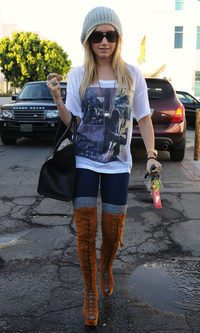 Ashley Tisdale, todo a lo grande