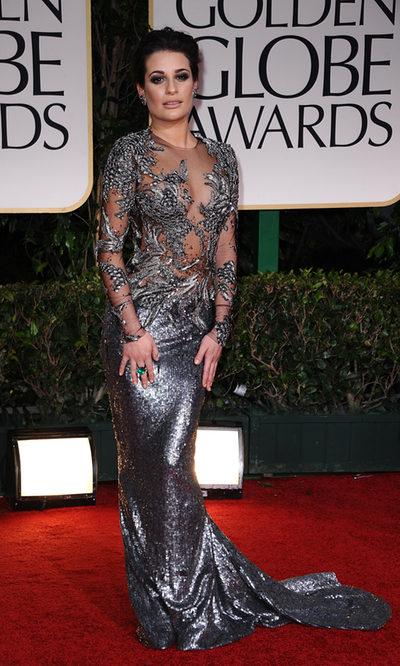 Las desacertadas transparencias de Lea Michele