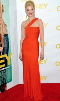 Katherine Heigl elige el color de 2012