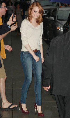Emma Stone, sencillez de altura