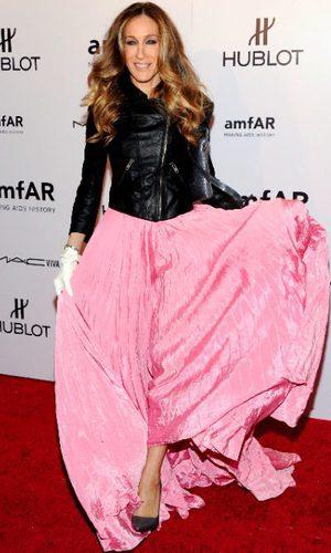 Sarah Jessica Parker romántica y rock