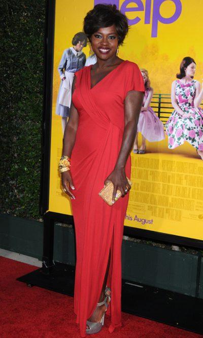 Viola Davis, première en rojo