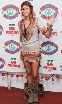 Carla Pereyra, demasiado hippie