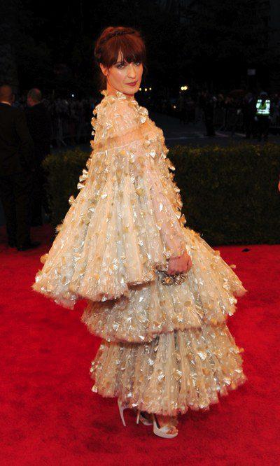 Una navideña Florence  Welch