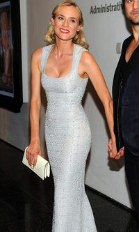 Una espectacular Diane Kruger de Azzedine Alaia