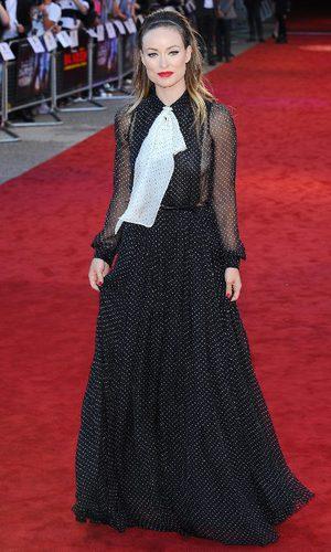 Olivia Wilde, o cómo no lucir un Gucci