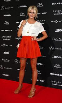 El look formal de Lena Gercke