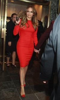 Jennifer Lopez se apunta a la moda del plexiglas
