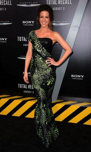 El vestido serpiente  de Kate Beckinsale