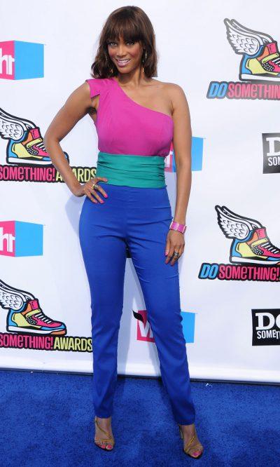 Tyra Banks a todo color
