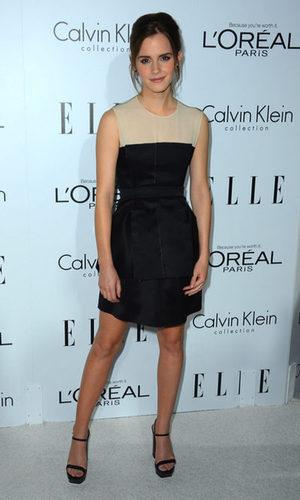 Emma Watson sencilla de Calvin Klein
