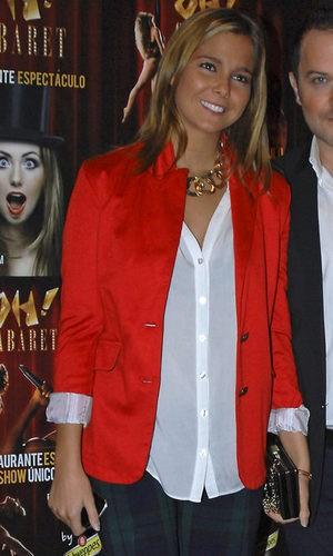 Natalia se suma a la tendencia de los pantalones de cuadros