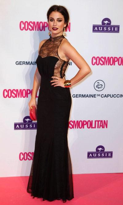Blanca Suárez con un vestido de Dior