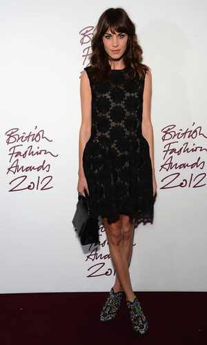 Alexa Chung en los British Fashion Awards