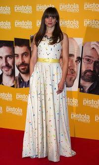 Leonor Watling también apuesta por el estampado de moda entre las 'celebs' españolas