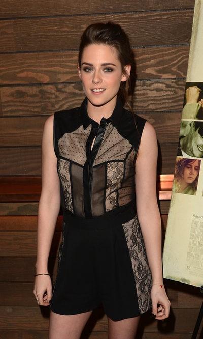 Kristen Stewart sigue apostando por las transparencias
