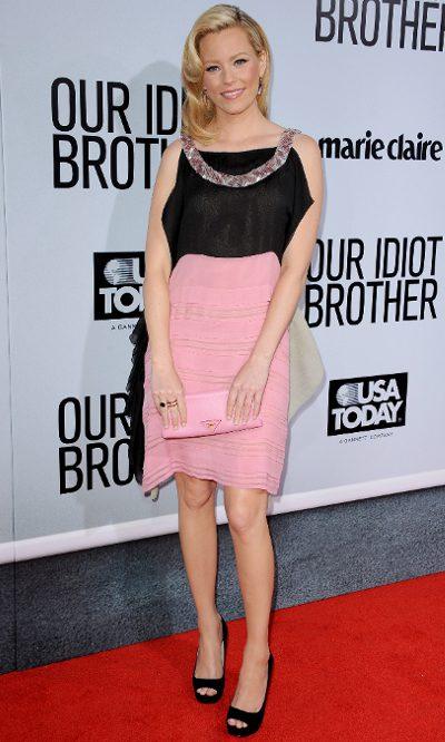 Elizabeth Banks, première de Prada
