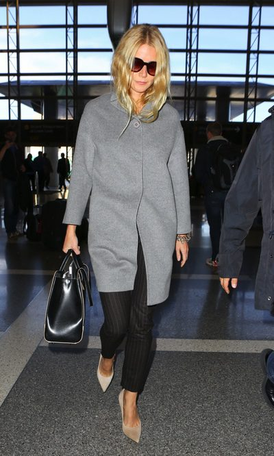Gwyneth Paltrow con un look working girl