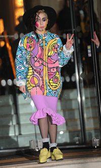 Lady Gaga, belleza 'picassiana'