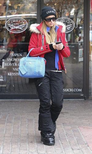 Paris Hilton, pillada yendo de compras y poco acertada
