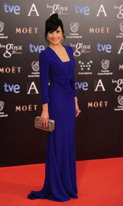 Marian Álvarez, espectacular con un vestido de Miriam Ocariz
