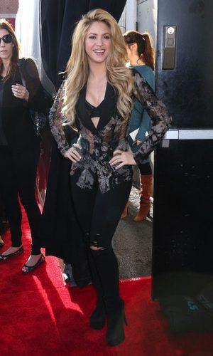 Shakira, una coach con transparencias