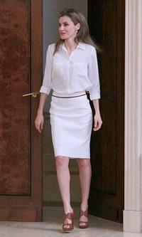 La primavera llega al armario de la Princesa Letizia