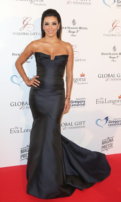 Eva Longoria, glamour y solidaridad no están reñidas