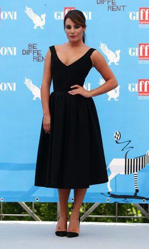 Lea Michele se convierte en Holly Golightly