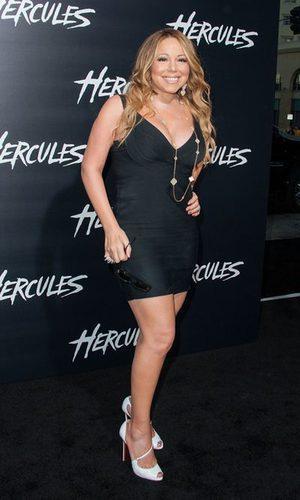 Mariah Carey no sabe qué talla de vestido usa