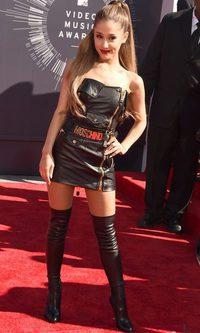 Ariana Grande apuesta por el cuero